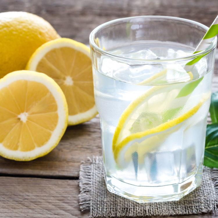 How to Make Lemon Detox Water {Video}