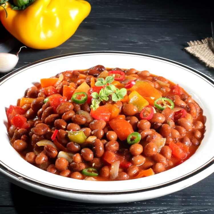 Veggie Chili (Fat Free, Corn Free, Grain Free)
