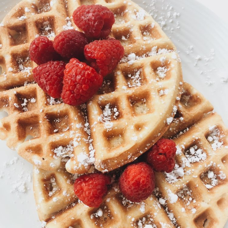 Vegan GF Waffles