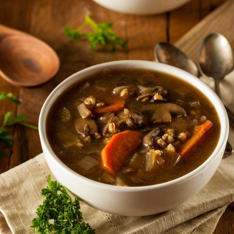 How to Make Easy & Healthy Mushroom Soup (Vegan)