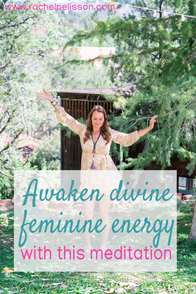 Awaken the goddess within yourself! This healing meditation will help reactivate divine feminine energy.