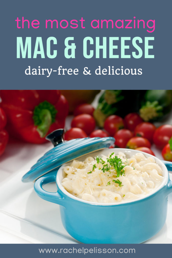 The best plant-based vegan mac and cheese, dairy-free and healthy!