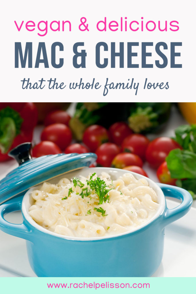 The Best Vegan Mac & Cheese made with broccoli and cashew cheese