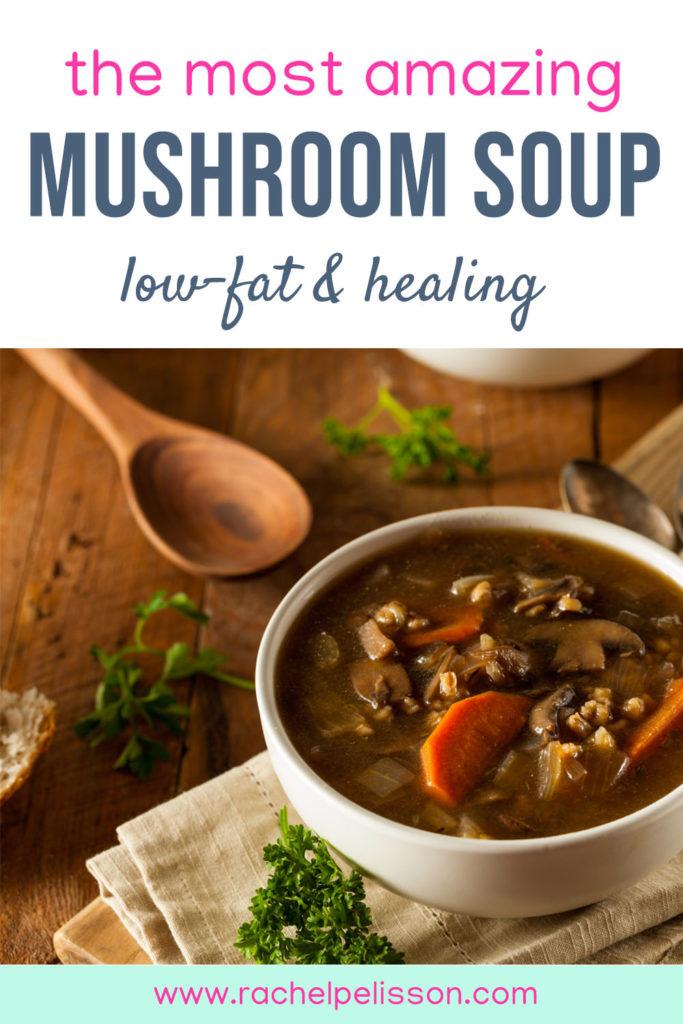 The Best Easy Mushroom Soup Recipe (Vegan)