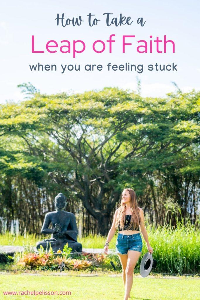 Taking a Leap of Faith, Rachel Pelisson Healing